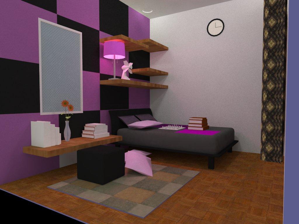 bedroom teenager farchstudio